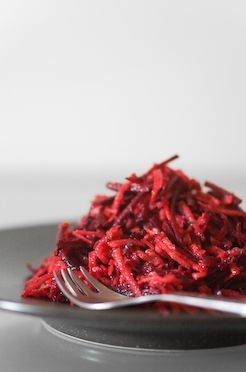 Carrot beet salad. Trying this tonight because it calls for pepper sauce. I love Franks Red Hot in everything!