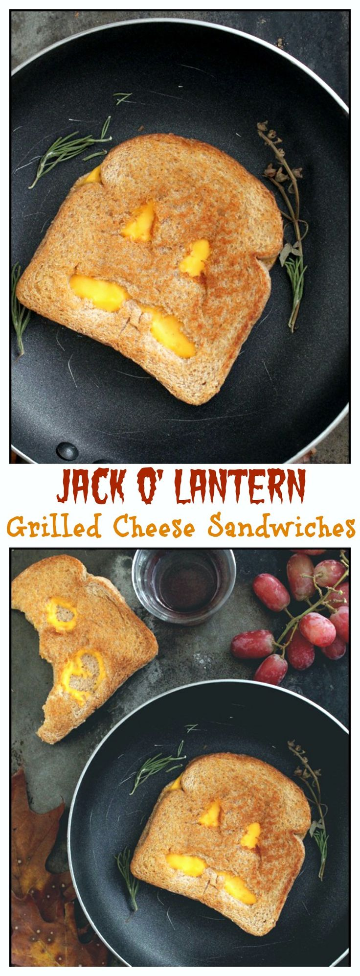 jack o lantern grilled cheese sandwiches ideas for halloweenkid halloweenhalloween recipehalloween - Halloween Kid Foods To Make