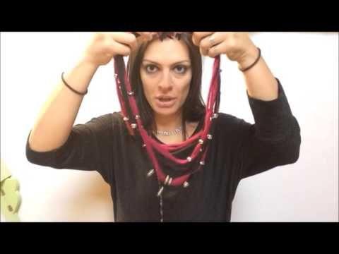 VIDEO #creattivaChannel Collane Vintage con Marta Zanzottera - YouTube