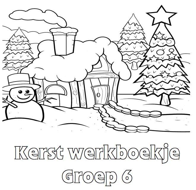 Kerst Werkboekje Groep 6