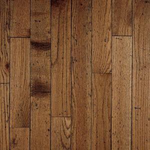 Bruce Antique Oak 3 4 In Thick X 3 1 4 In Wide X Random