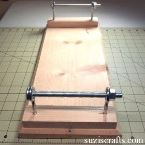 5. How to Make a Seed Bead Loom Suzi's Crafts  Connect the bolts and add washers if need be. A push-pin or finish nail is needed on the base for both sides, this is necessary for stringing the loom.