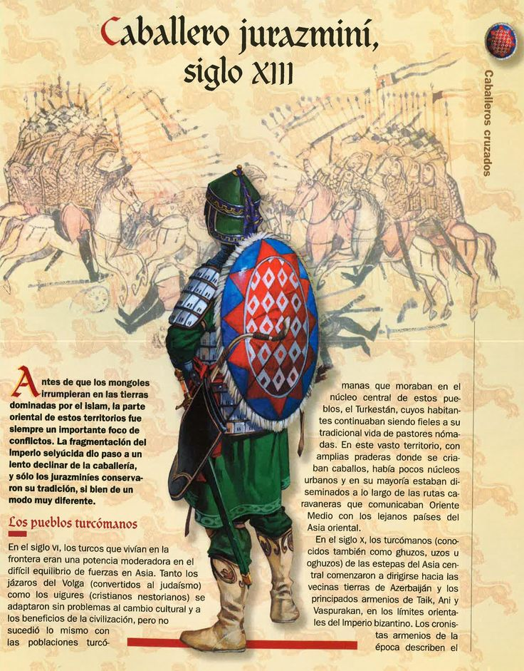Khwarazmian cavalryman, XIII c.