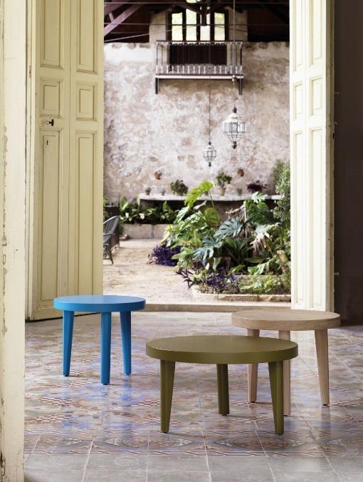 Coffe Tables TRIO TRIm And TRYP By EXPORMIN Mobiliario