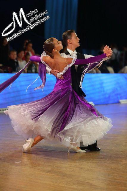 The dancing violet dress!!