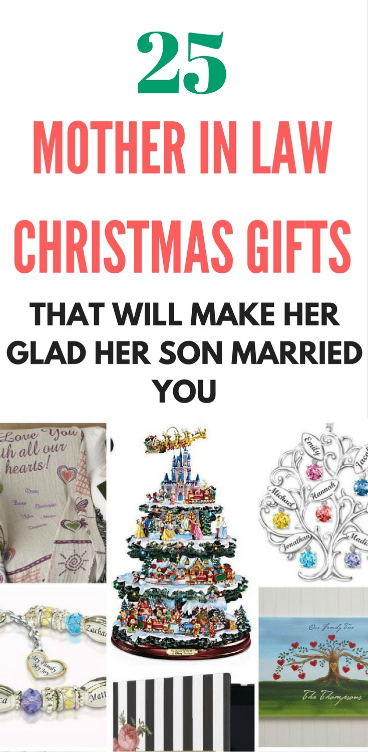 Mother in Law Christmas gifts - 25 Christmas gifts that even the most persnickety mother in law will love!