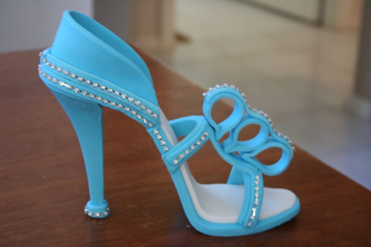 blue with bling