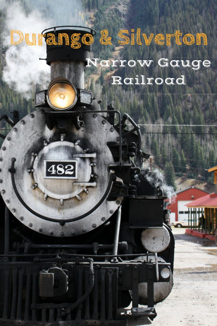 Een van de mooiste treinritten in Amerika. Van Durango naar Silverton met een historische stoomtrein.