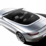 New Mercedes C-Class Cabriolet teaser sketch released ahead of Geneva Motor Show