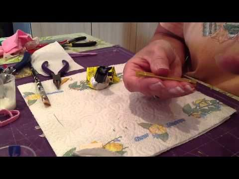 How To Make Bathroom Accessories For A Dollshouse - YouTube