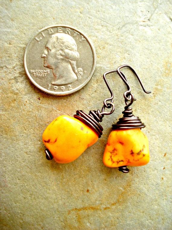 Boho Earrings  Boho Jewellery  Hippie Earrings  by HandcraftedYoga, $18.00