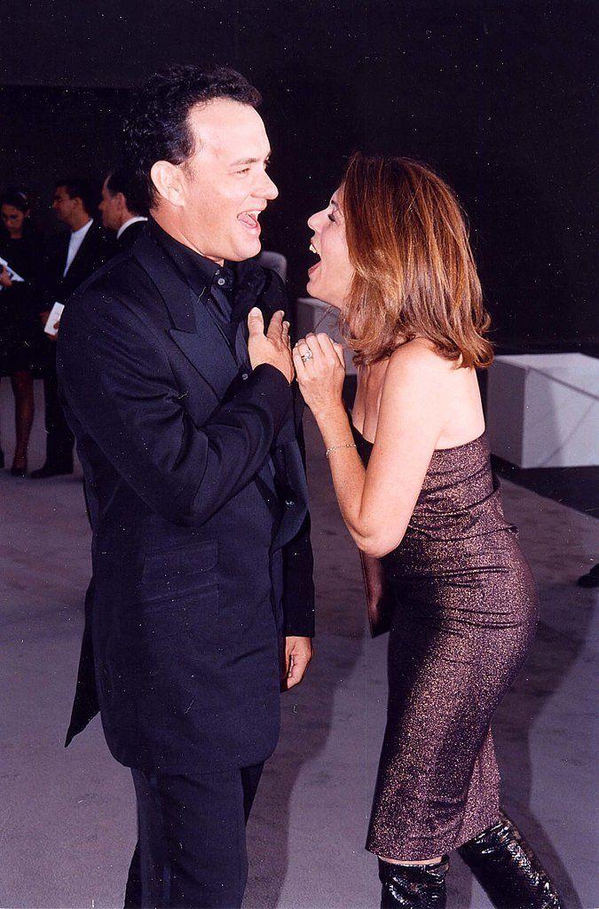 Cute Tom Hanks and Rita Wilson Pictures | POPSUGAR Celebrity