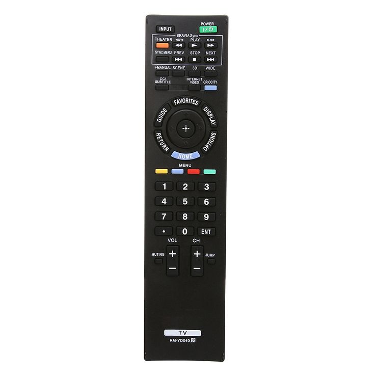 3D HDTV LED LCD TV Remote Control For Sony TV RM-YD040 Remote Control