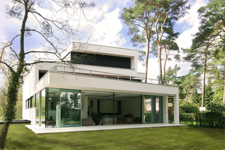 Architektenhaus berlin dahlem neubau modern forest house for Architektenhaus modern