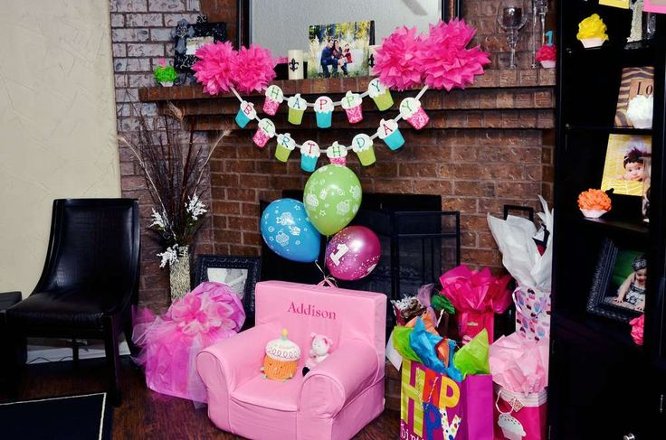 DIY :):) Cupcakes! Birthday Party Ideas   Photo 1 of 33   Catch My Party