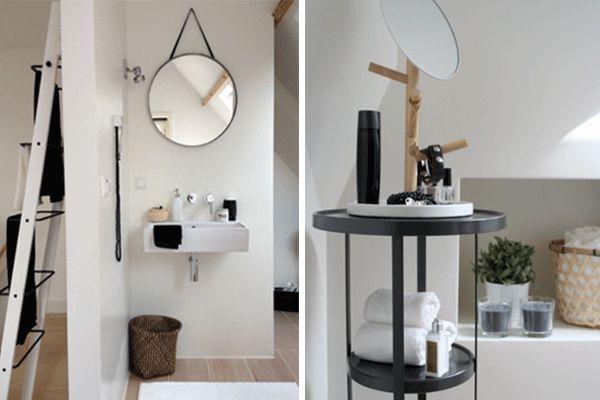 17 beste idee n over scandinavische badkamer op pinterest for Interieur accessoires design