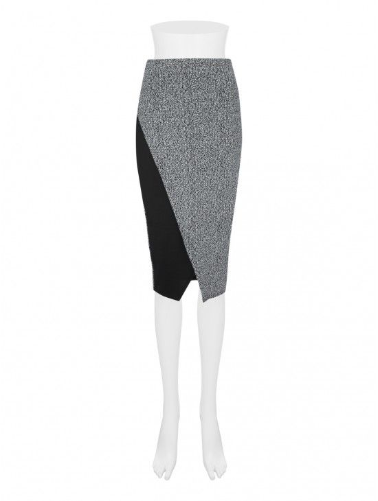 Tweed Pencil Skirt | Jane Norman