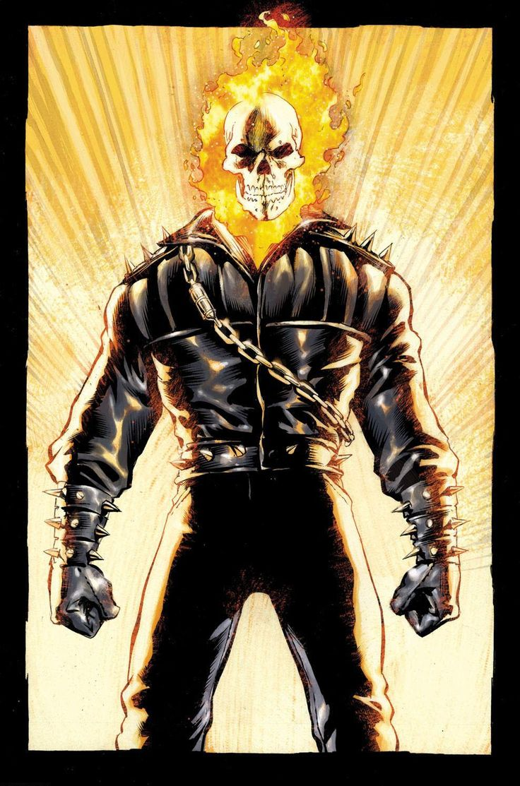 Ghost Rider: Ghost Rider by Mark Texeira and Javier Saltares