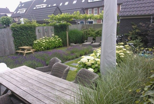 17 best images about schuttingen tuin on pinterest gardens at the top and tes - Kleine designtuin ...