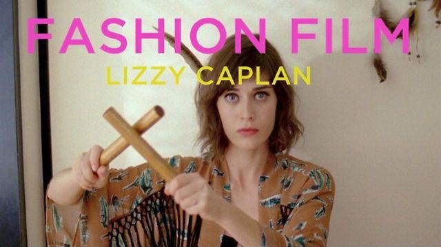 FASHION FILM by Matthew Frost. Lizzy Caplan for Viva Vena!