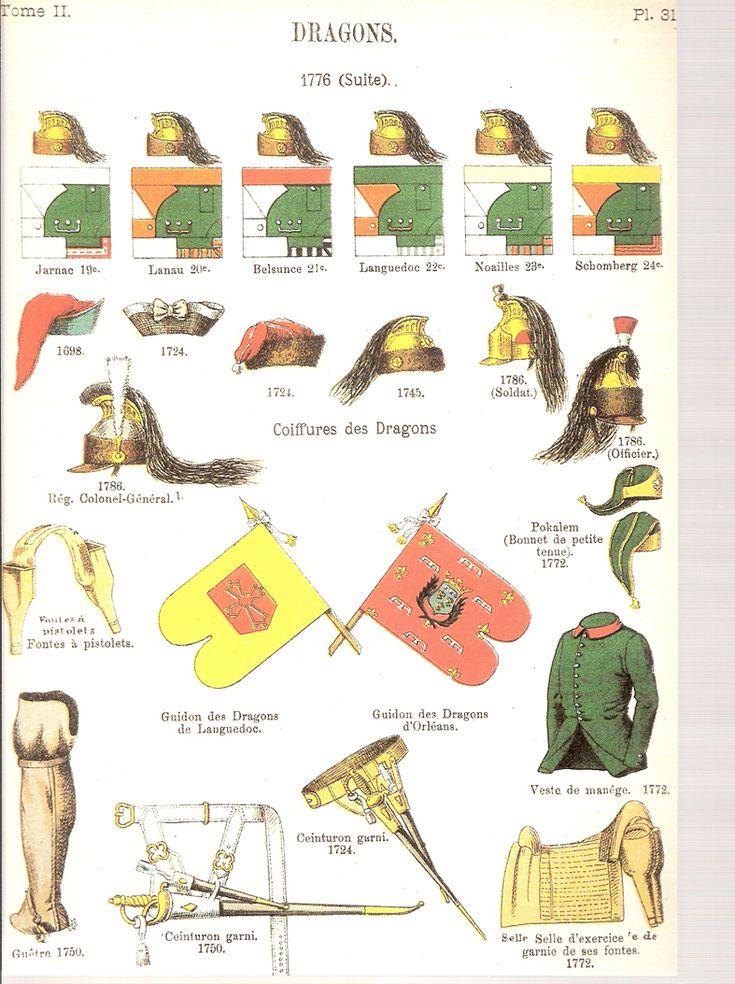 Dragons Les Régiments de l'Ancien Regime :Maquetland.com:: Le monde de la maquette