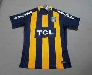 18-19 Cheap Jersey Rosario Central Home Replica Yellow Shirt  BFC608 ... 9926833e3