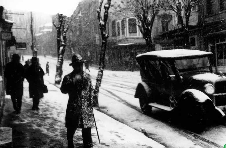 1929. winter in istanbul.