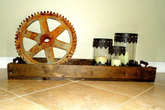 Mega+Rustic+Farm+Tray+with+Handles%2C+Coffee+Table+Tray%2C+Shoe+Tray%2C+Reclaimed+Wood+Tray%2C+Pallet+Wood+Tray%2C+Pallet+Tray%2C+Wood+Decor%2C+Wood+Tray