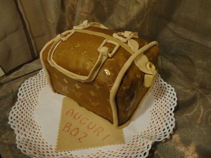 Louis Vuitton's cake