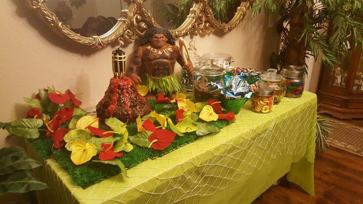 Maui birthday party | Maui Birthday Party | Moana birthday ...
