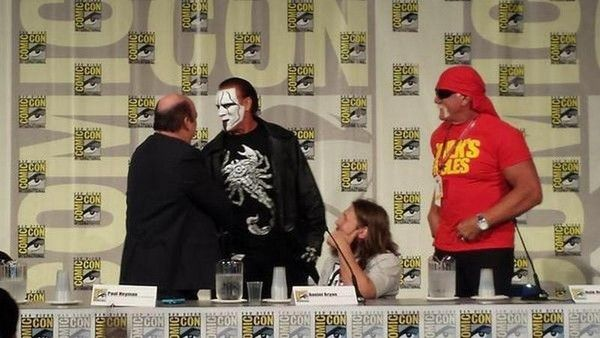 The Rock Tweets About Hercules, Hulk Hogan Comments on Sting's Comic Con Appearance  - http://www.wrestlesite.com/wwe/rock-tweets-hercules-hulk-hogan-comments-stings-comic-con-appearance/