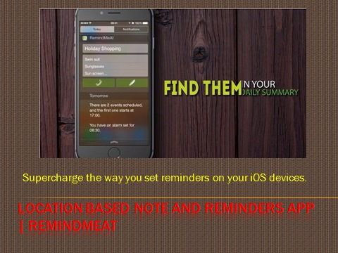 https://flic.kr/p/GfjrKs | How to Use Reminders on Your iPhone | Supercharge the way you set reminders on your iOS devices.   Buy and download apps : itunes.apple.com/us/app/apple-store/id948654827?mt=8   Buy and download apps : www.remindmeat.com/