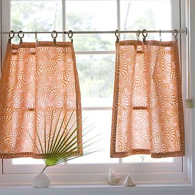 Nice How To Make Cafe Curtains. You Can Make Cute Kitchen ...