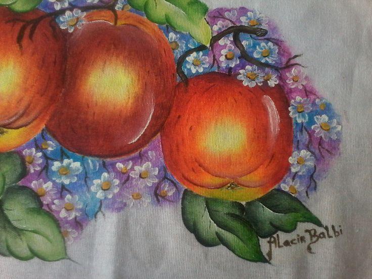 Pintura em tecido Riscos Alacir Balbi