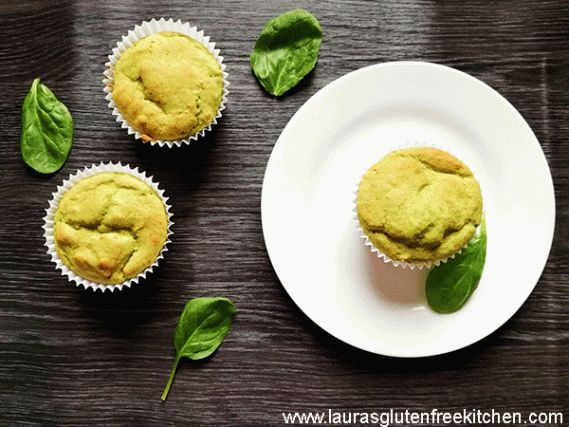 Gluten Free Spinach Banana Muffins --- Got a picky eater? These kid favorite muffins are 100% Gluten free, refined-sugar-free, and packed with fresh spinach!