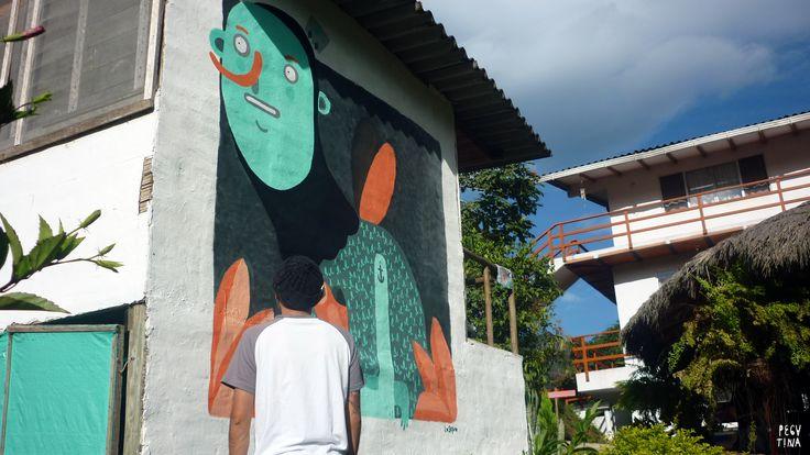 """""""Un mural nuevo es una experiencia nueva ,donde no solo se deja el alma y el cuerpo"""
