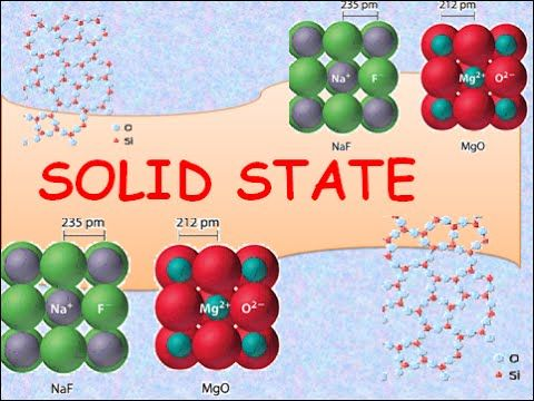 12th solid state chem Course content the course is given every second year, next time will be autumn  2017 the course covers solid state chemistry in a broad manner with.