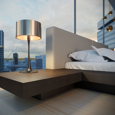 Modloft Gramercy King Bed in Wenge