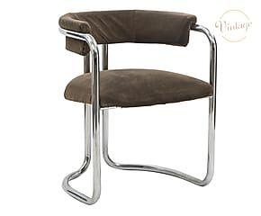 Set di 4 sedie in metallo anni '70 - 57x72x55 cm