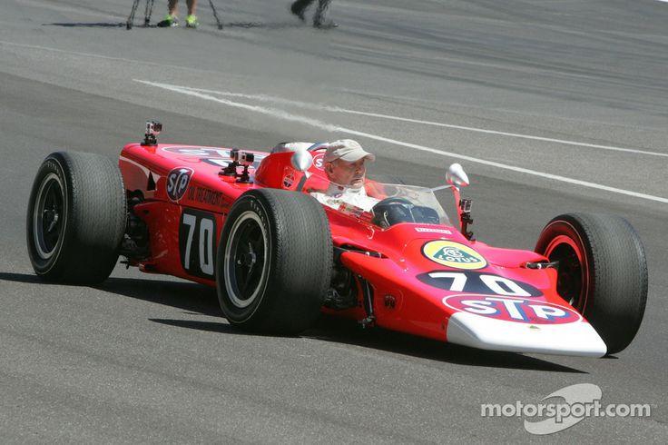 Parnelli Jones in an old IndyCar
