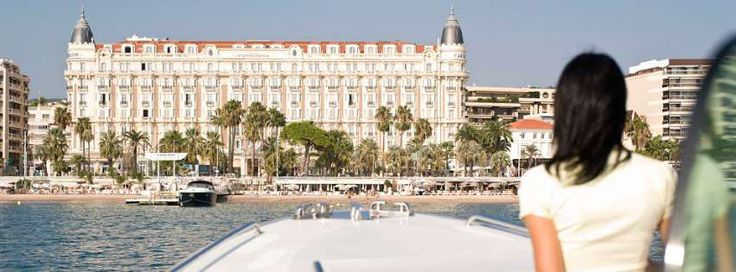 Intercontinental Carlton (Cannes), France #france #intercontinental #cannes #riviera #cannesfilmfestival #mediterranean #boat #mer #carlton