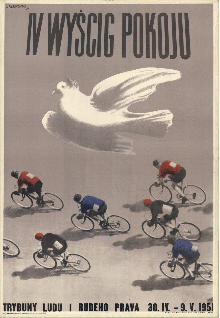 Tadeusz Trepkowski's masterpiece for the 1951 Peace Race.