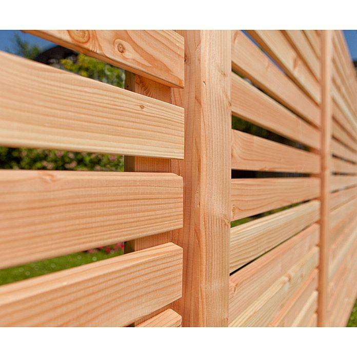 Kiehnholz Sichtschutz Halbelement Rhombus 89 X 179 Cm Natur In 2020 Sichtschutz Sichtschutz Garten Holzzaun
