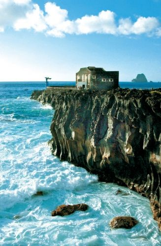 Sleep in world's smallest hotel on the island of El Hierro, Hotel Punta Grande