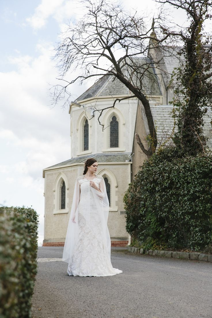 A Classical Inspired Bridal Shoot | © Photography: By Holly Rose Photography   www.byhollyrose.com.au  Styling: Sarah Di Fazio Muse: Sophie Fawcett of Wink Models Hair & Makeup: Eileen Yan Zagoršćak  Gown: Bridal Tailors Florals: This Day Flowers  Wedding / Bridal / Bride / Styling