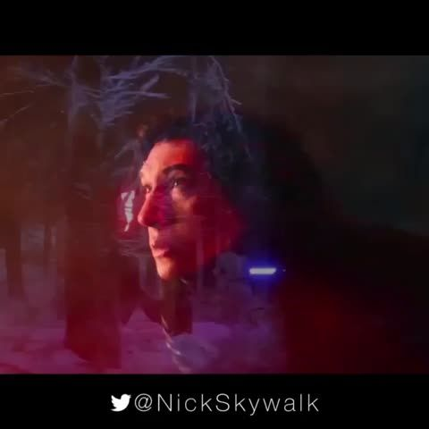 Kylo Ren vs Rey #StarWars #TheForceAwakens