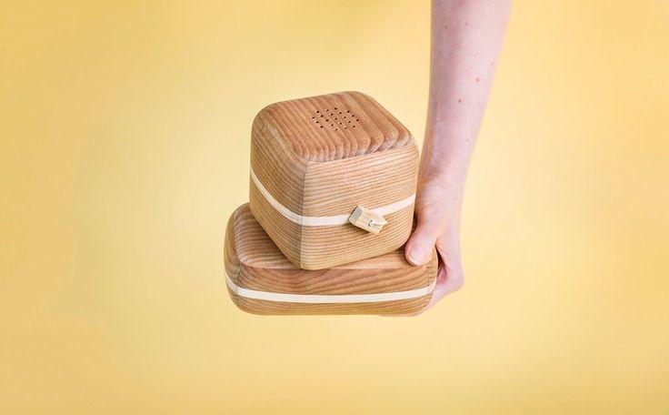 Sound-venir Collection -  Carillon and Maraca handmade by heat-treated Ash