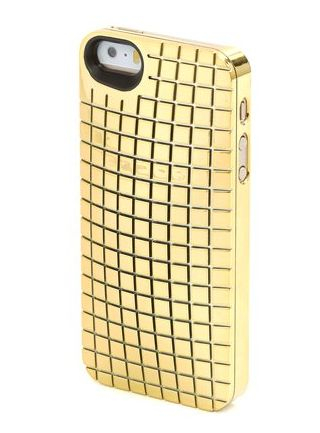 marc by marc jacobs mirror ball iphone 5 case in gold. Black Bedroom Furniture Sets. Home Design Ideas