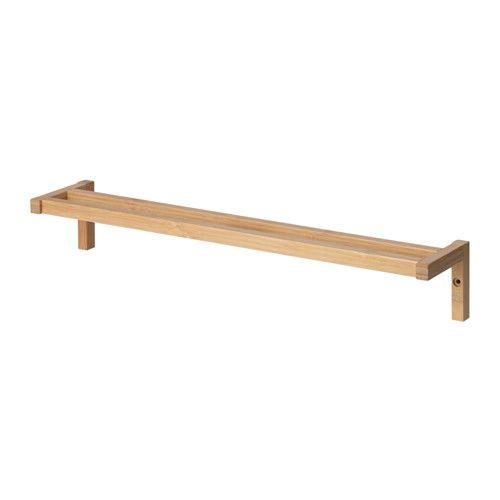 Les 25 meilleures id es de la cat gorie porte serviette for Porte serviette bambou ikea