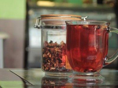 Pečený čaj - vitamíny pro zahřátí